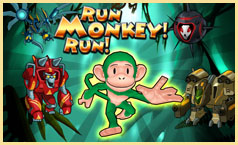 SRun Monkey Run from Galaxy Pest Control